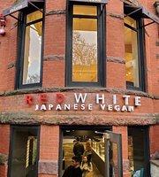Red White Japanese Vegan