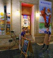 Cafe Mazza - Bukhara Coffee Trip
