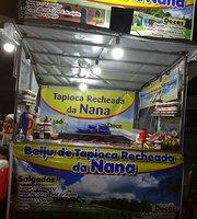 Beiju de tapioca recheada da Nana