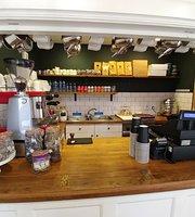 Cafe at Aberdour castle