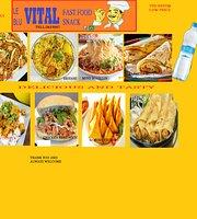 Blu-Vital Fast Food Snack