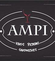 Ampi. Vinos, Picadas, Sandwiches.