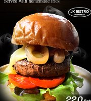 JK Bistro - the best Burgers in Town