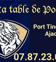 La Table De Poseidon