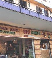 Big knife döner Shawarma