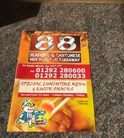 88 Seafood & Cantonese Takeaway