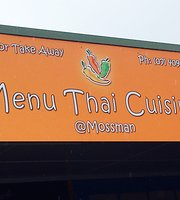 Menu Thai Cuisine at Mossman