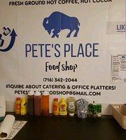 Pete's Place Food Shop