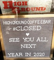 High Ground Coffee Bar