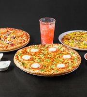 Happy Fox & Veggie Pizza Premium Quality Pizza