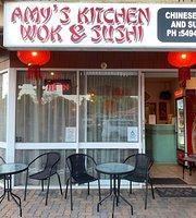 Amy's Kitchen Wok & Sushi