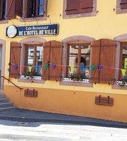 Café restaurant de l'hôtel de ville
