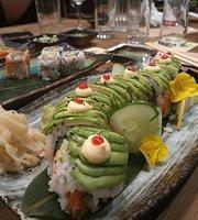 Edo Sushi Wig & Pen