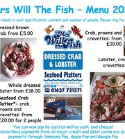 Mrs Will the Fish - seafood take-away