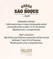Restaurante Adega de Sao Roque