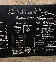 La Table des Artistes