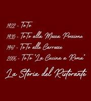 """Toto """"La Cucina a Roma dal 1922"""""""