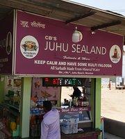 Food Stalls On Juhu Chowpatty