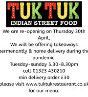‪Tuk Tuk Indian Street Food‬