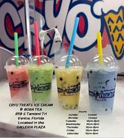 Cryo Treats Ice Cream & Boba Tea