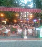 Alaaddin Bistro Steak House from Neptün hotel Side