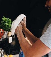 A Pesto: Artisan Wood-fired Sourdough Pizza