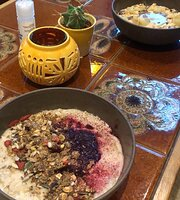 Morridge oats + coffee