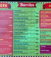 Monchi's Beach Burrito