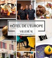 La Table de l'Europe ( Hôtel de l'Europe Villeréal )