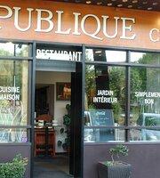 Restaurant République Côté Jardin