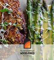 Queens Cottage Wood-fired Kitchen