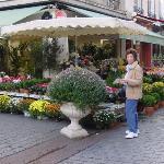 flower shop on corner