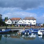Salterns Harbourside Hotel from Marina