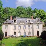 Our First sight of the Manoir