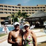Poolside - Gala resort - Wife and me