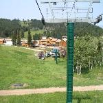 Looking Down at Targhee July 2004