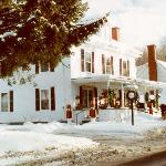 Vert Le Mont B&B-Pretty as a picture in winter.