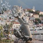 Local fountain in Poros