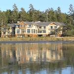 Long Beach Lodge from the beach