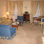Elegant, spacious lounge
