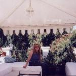 Me on the private roof terrace of La Ventana