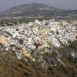 Town of Fira (10 minute walk)