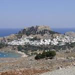 Lindos (1 hour drive - well worth it!)