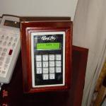 Control Panel in Room bedside & in Bathroom