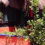 outside cabana