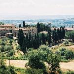 View of Tuscany area