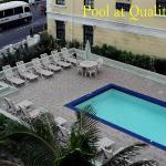 Pool at Quality Inn