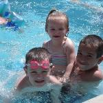 In the Kids pool
