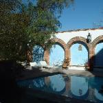 One of the pools at La Puerticita