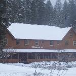 snow at the inn